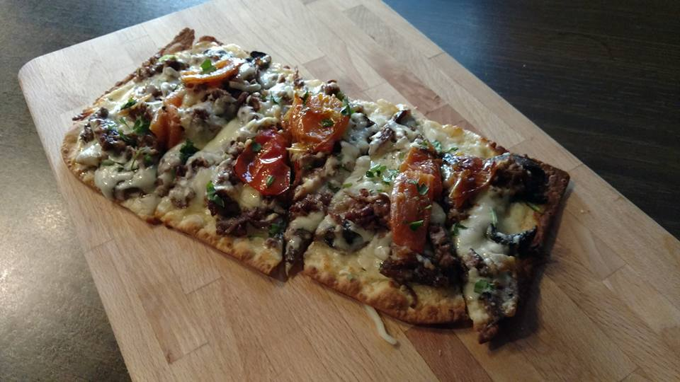 Crispy Flat Bread Pizza